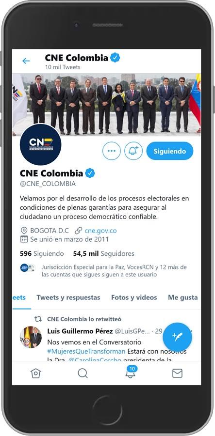 Twitter CNE