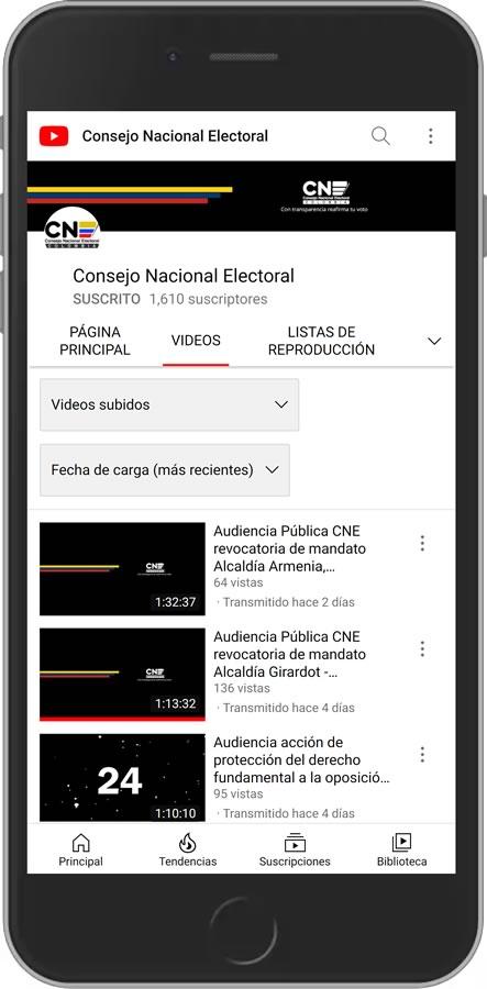 Youtube CNE